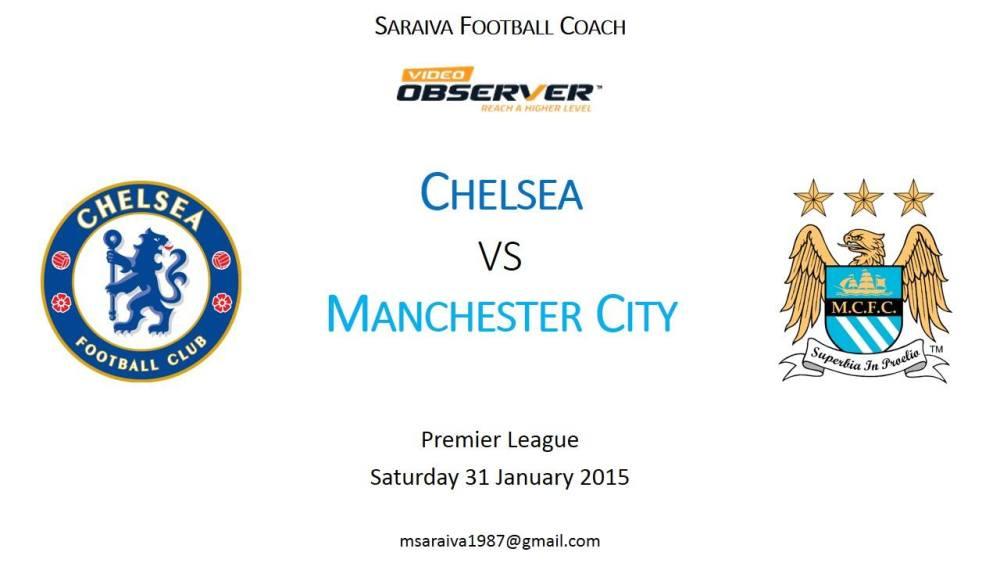 Relatório Chelsea vs Manchester City (1/6)